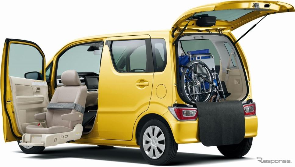 スズキ ワゴンR 昇降シート車《画像:スズキ》