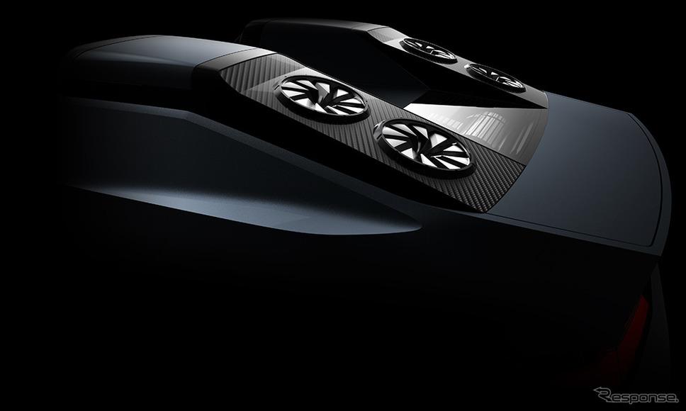 スモールサイズの電動SUVコンセプトカー《画像:三菱自動車》
