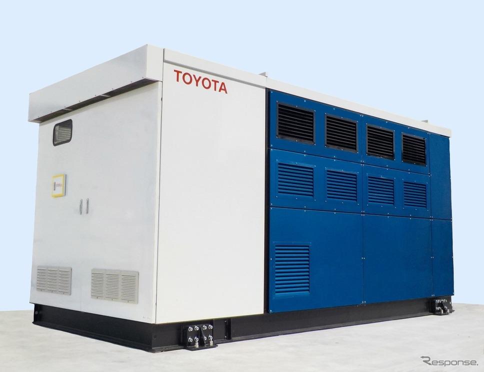 FC発電機の外観《画像:トヨタ自動車》