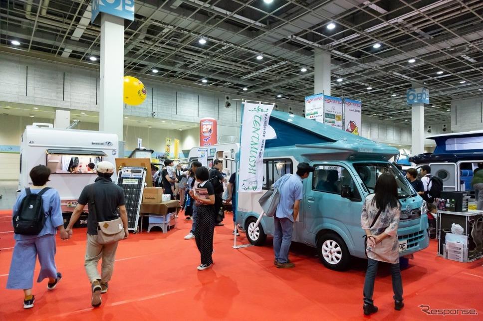 大阪キャンピングカーフェア(昨年の模様)《画像:大阪キャンピングカーフェア2019事務局》