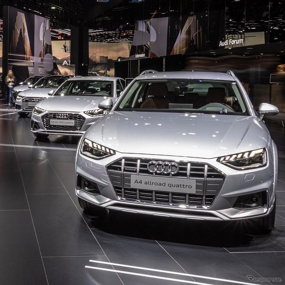アウディ A4 オールロードクワトロ 改良新型(フランクフルトモーターショー2019)《photo by Audi》