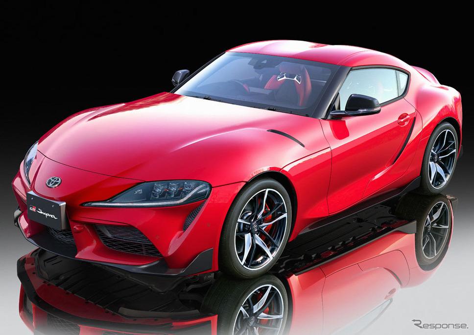 トヨタ GRスープラ 1/24スケールモデル《画像:タミヤ》