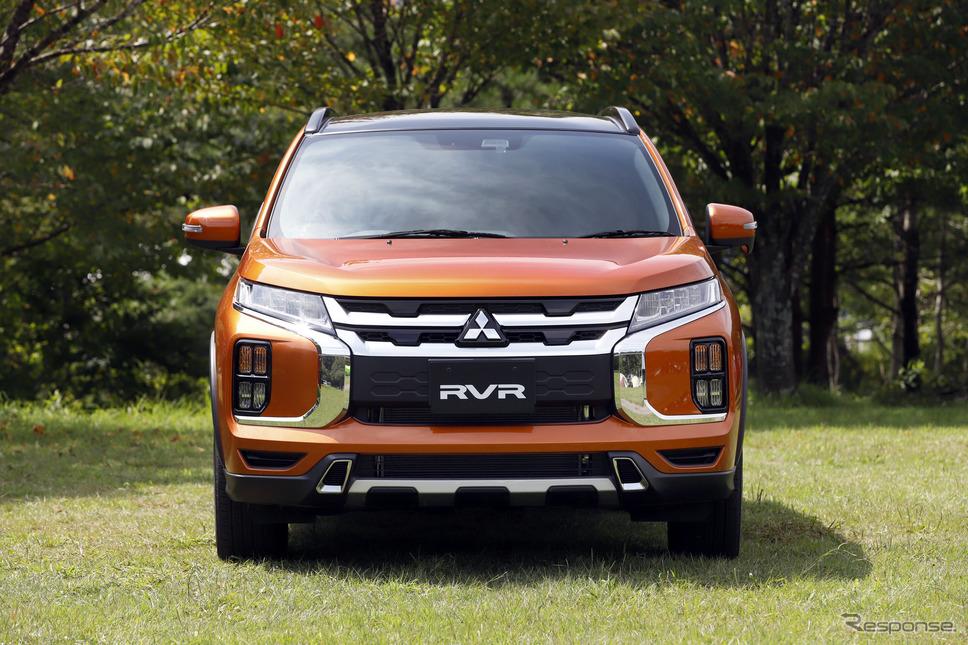 三菱 RVR 改良新型《撮影 小林岳夫》