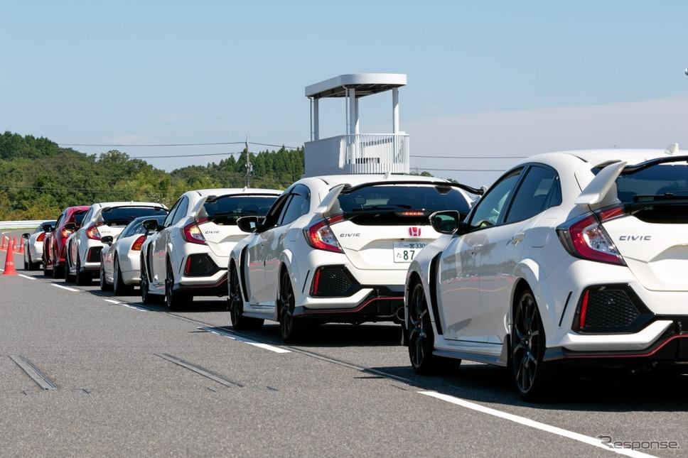 「ホンダ スポーツ ドライビング ミーティング-R」(HSDM-R)《写真 上田和則》