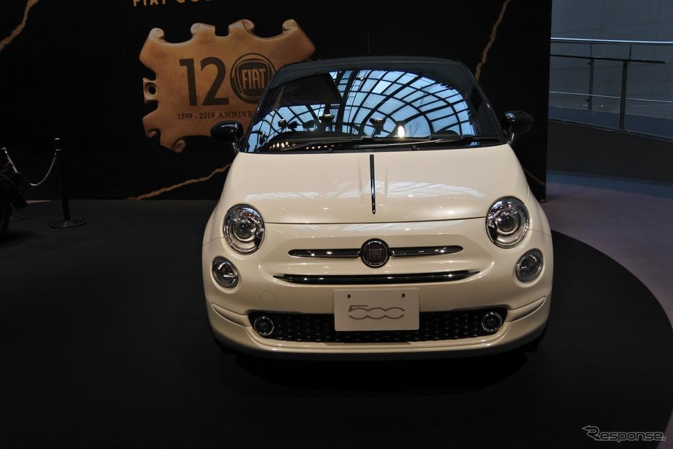 フィアット120周年記念限定車 500 120 th タキシード《撮影 小松哲也》