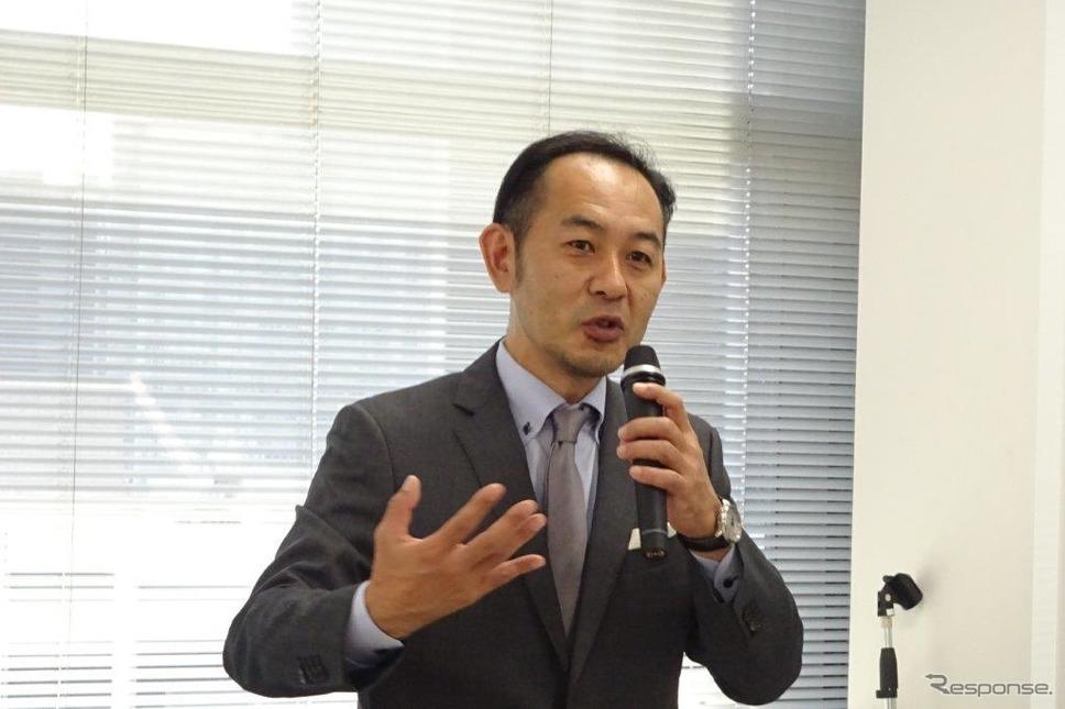 マツダCX-30開発責任者、佐賀尚人主査《撮影 池原照雄》