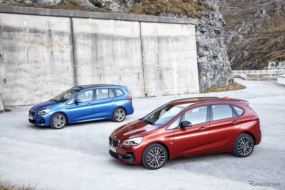 BMW2シリーズ・アクティブツアラー/グランツアラー 現行型(参考画像)《BMW》