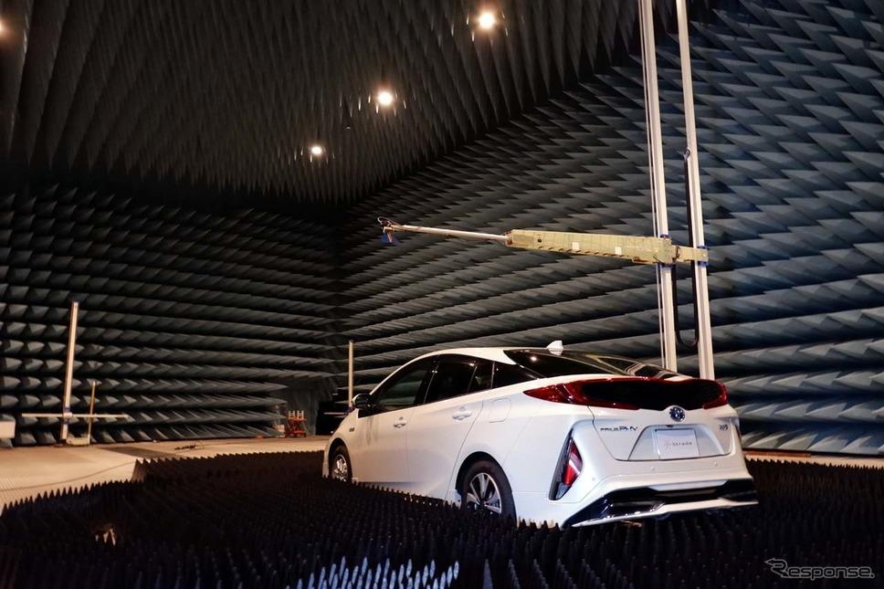 パナソニックが構築した5G対応電波暗室