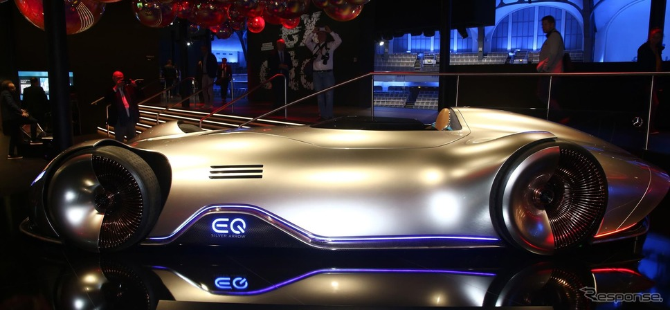メルセデスベンツ・ビジョン EQ シルバーアロー(フランクフルトモーターショー2019)《photo by Mercedes-Benz》