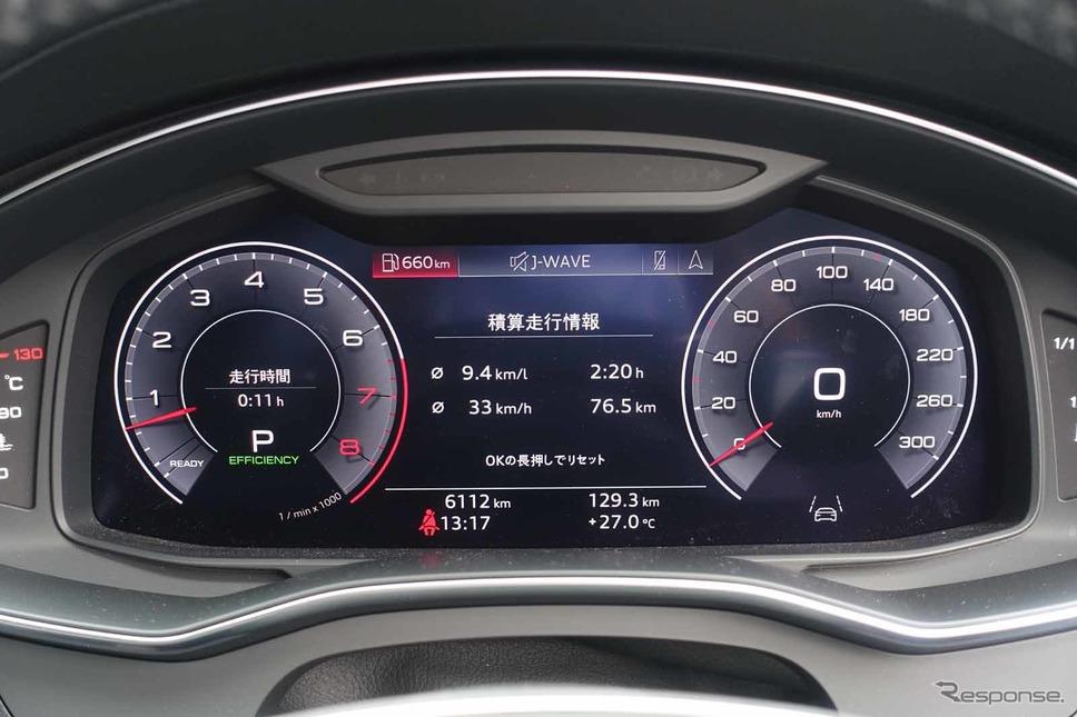 アウディ A6アバント 新型(55TSFI)撮影 中村孝仁
