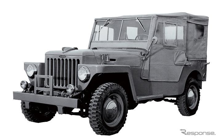 BJ型(1951年)《画像:トヨタ自動車》