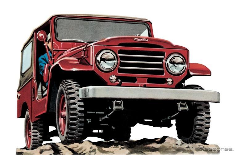 20系(1955年)《画像:トヨタ自動車》
