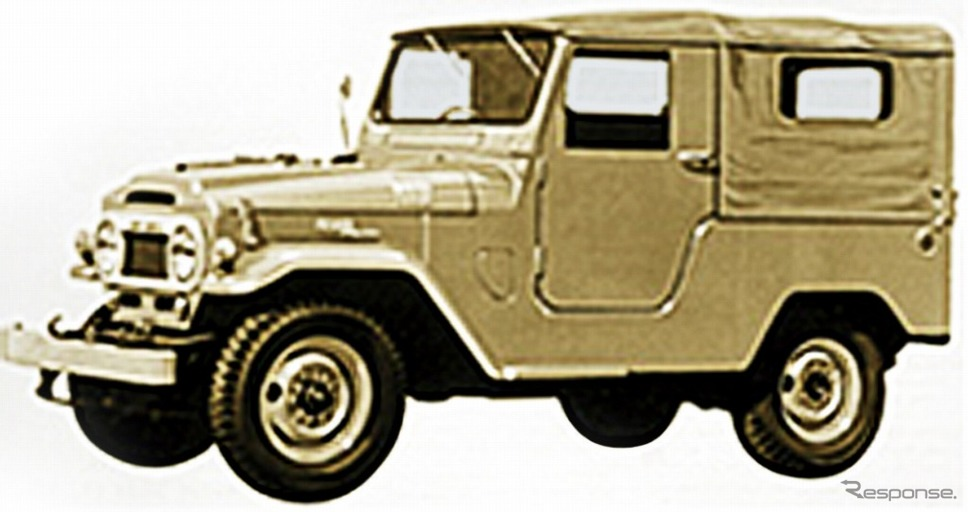 40系(1960年)《画像:トヨタ自動車》