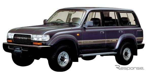 80系(1989年)《画像:トヨタ自動車》