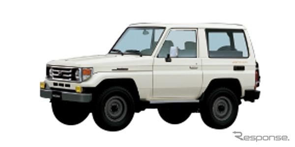 70系(1999年)《画像:トヨタ自動車》