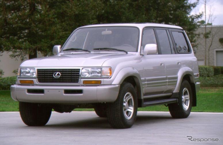 レクサスLX450(1996年)《画像:トヨタ自動車》