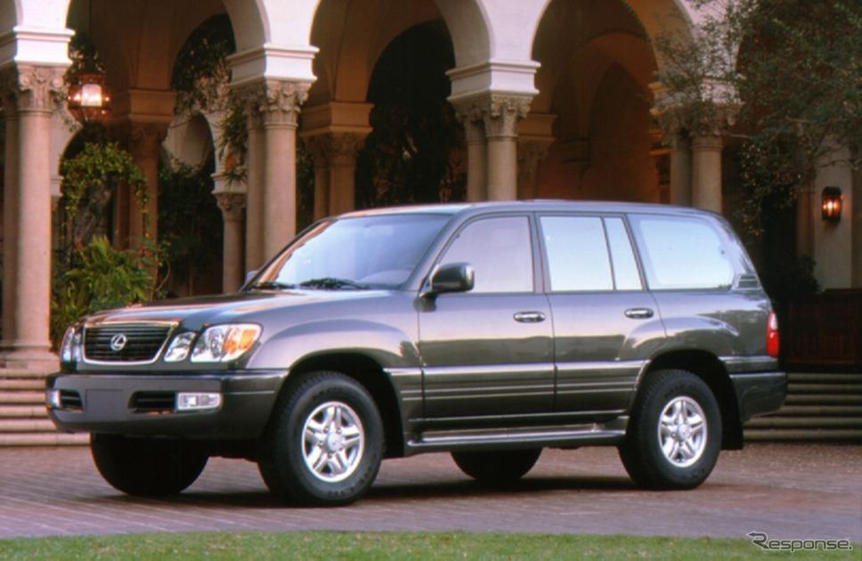 レクサスLX470(1998年)《画像:トヨタ自動車》