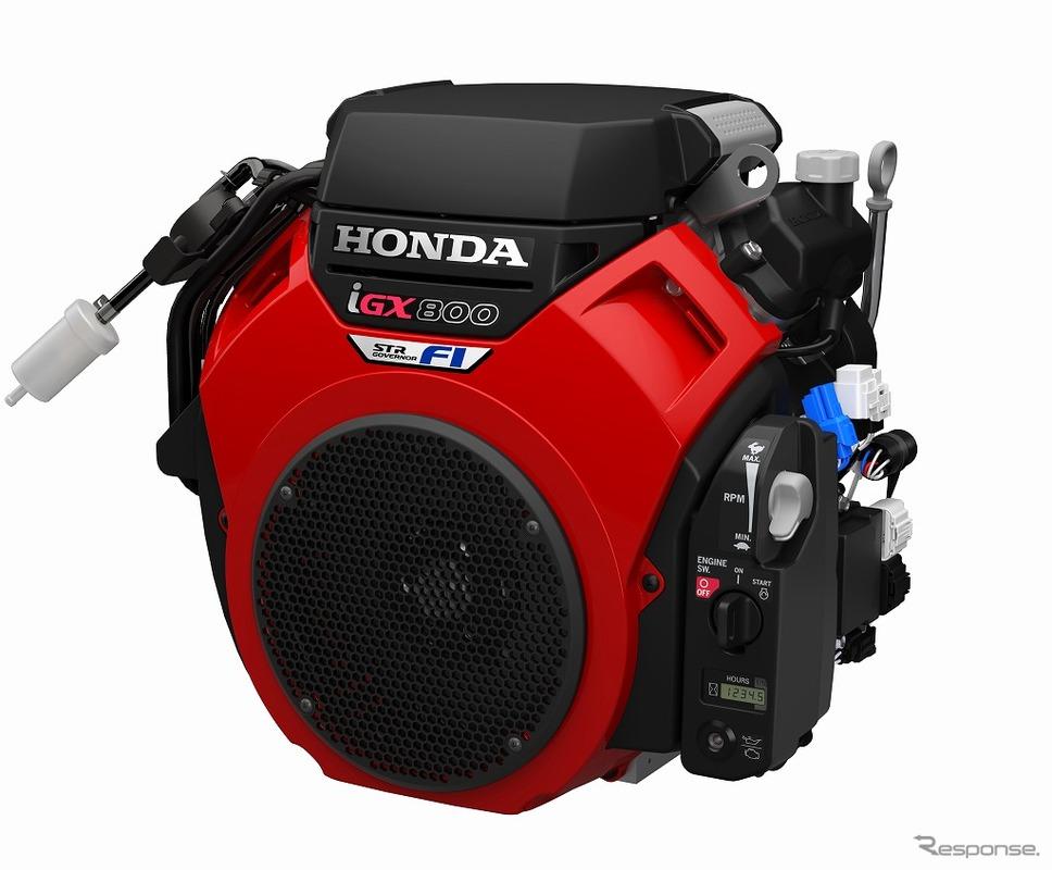 作業機械メーカー向け汎用エンジン iGX800(2019年)《写真 ホンダ》