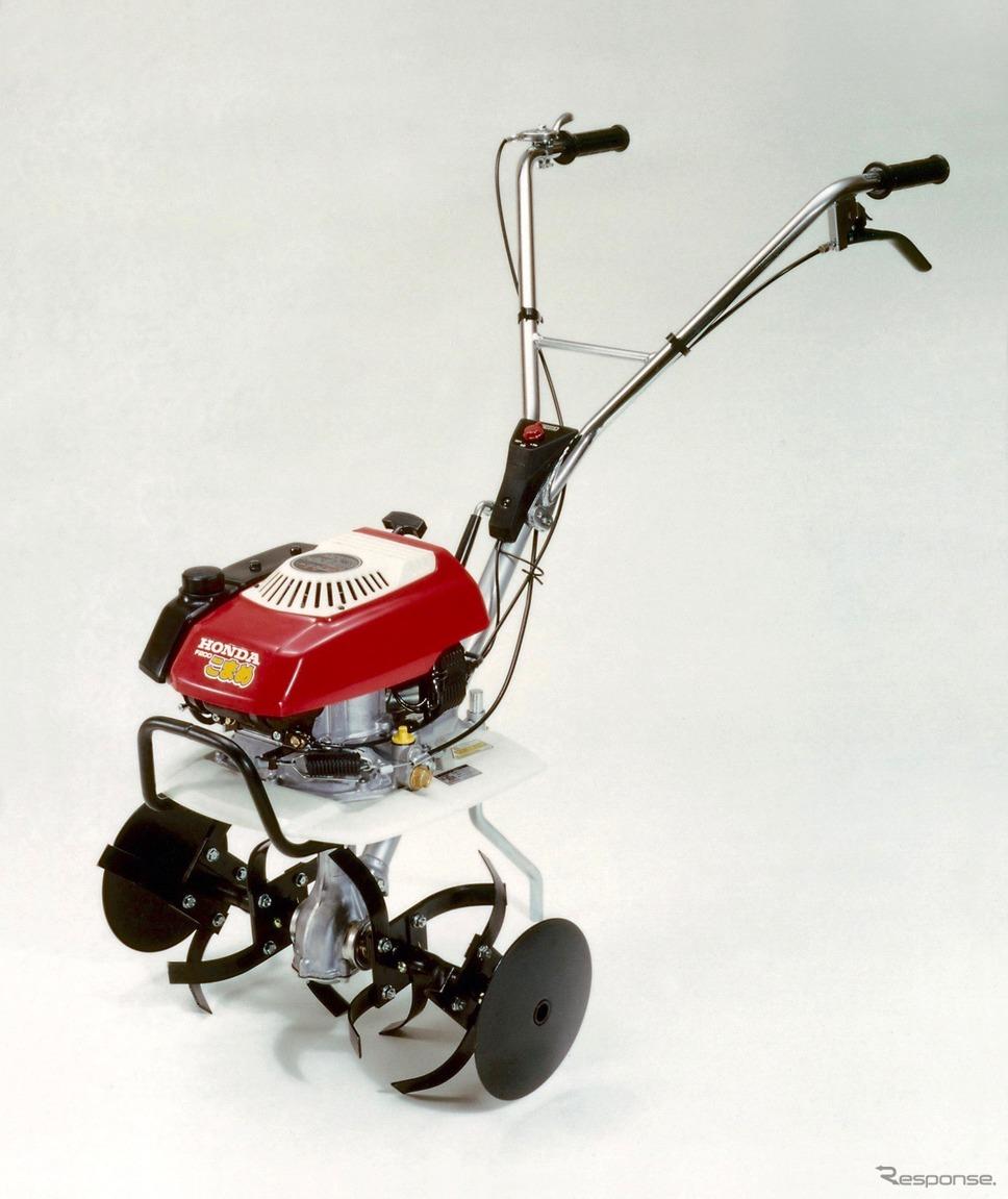 小型軽量耕うん機こまめF200(1980年)《写真 ホンダ》