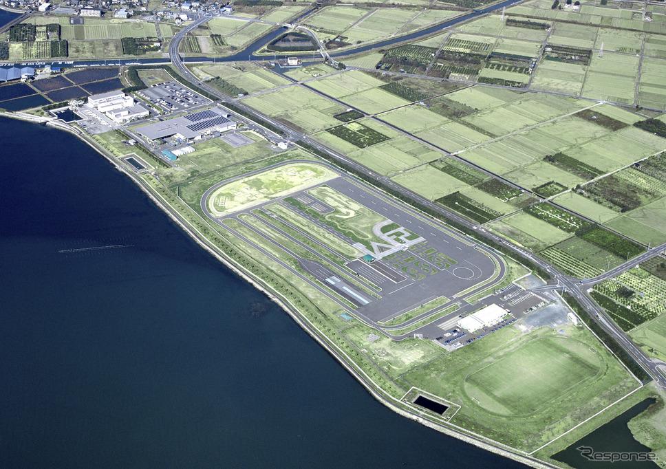 浜松製作所細江工場、現細江船外機工場(2001年)《写真 ホンダ》