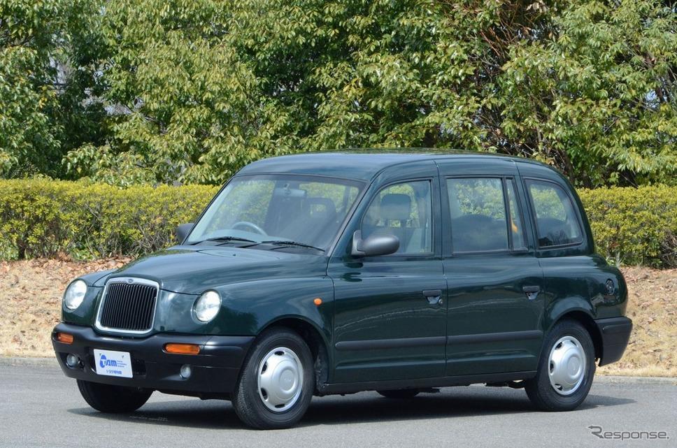 """LTI TX1 """"ロンドンタクシー""""《画像:トヨタ自動車》"""