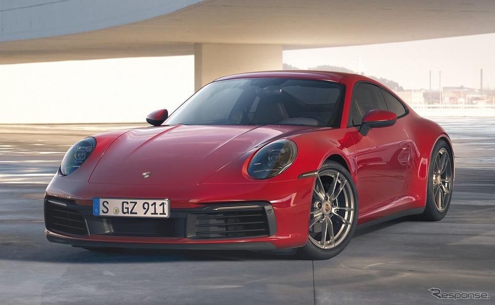 ポルシェ911カレラ4クーペ《photo by Porsche》