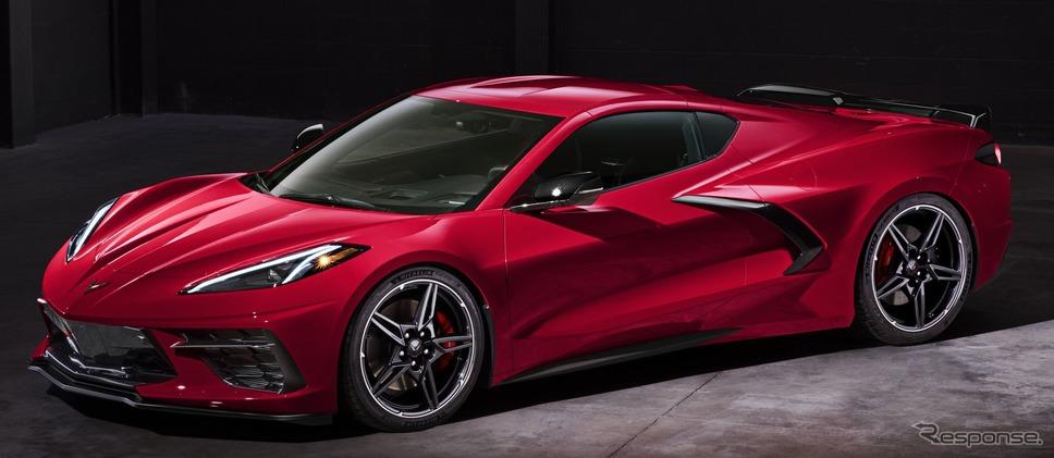 シボレー・コルベット・スティングレイ《photo by Chevrolet》