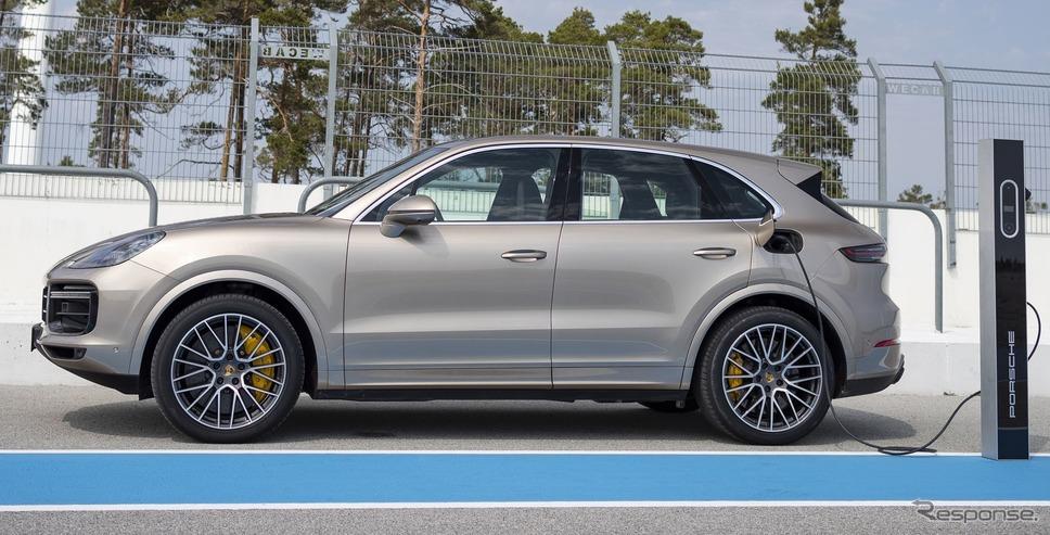 ポルシェ・カイエン・ターボ S E ハイブリッド 新型《photo by Porsche》
