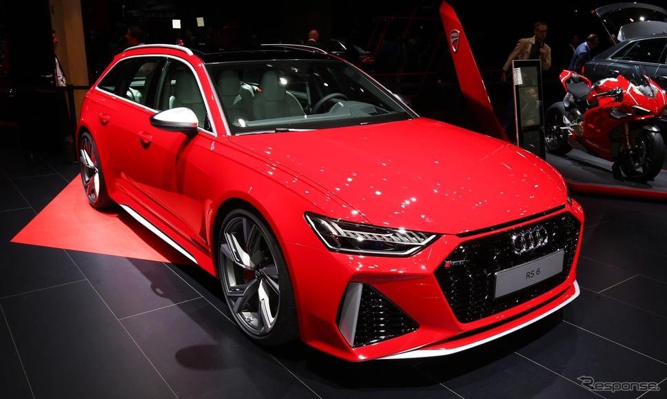 アウディRS6アバント 新型(フランクフルトモーターショー2019)《photo by Audi》