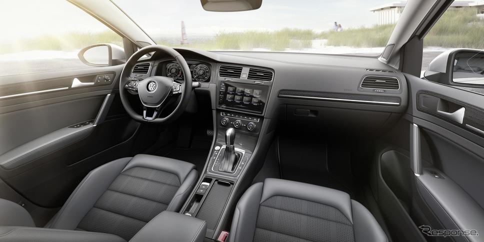 VW ゴルフ・ヴァリアント 現行型(参考画像)《photo by VW》