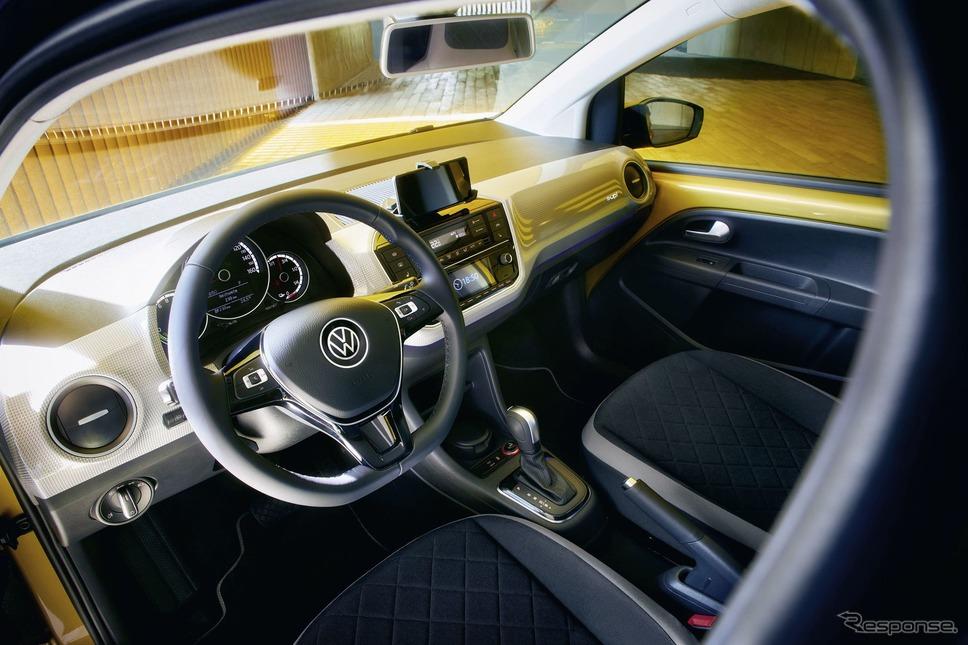 フォルクスワーゲン e-up!改良新型《photo by VW》