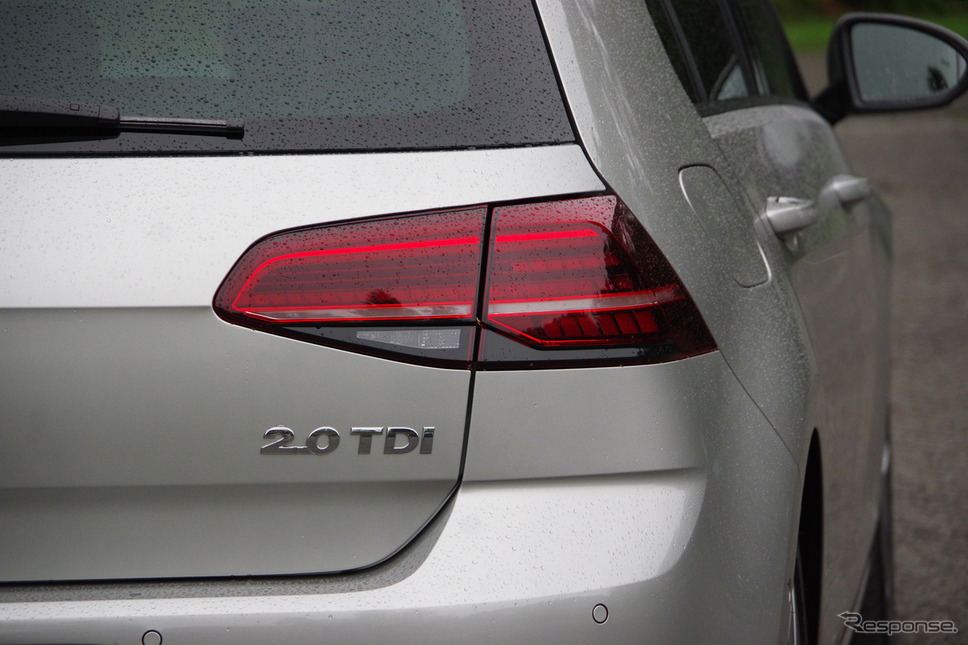 VW ゴルフ TDI Highline Meister《撮影 宮崎壮人》