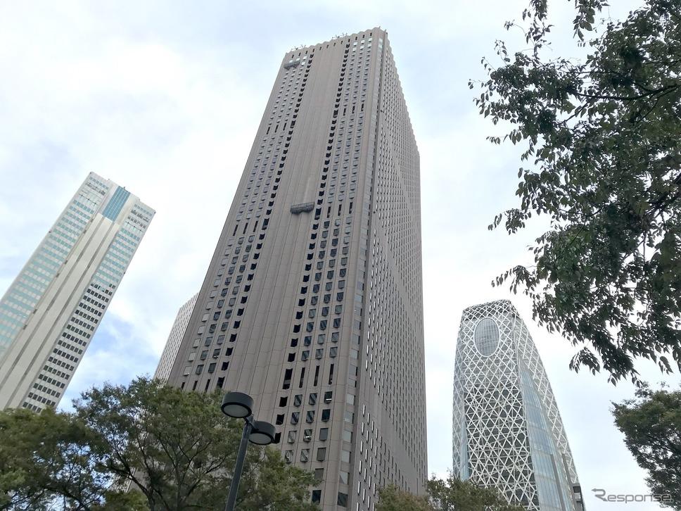モビロッツ本社がある新宿センタービル。《撮影 高木啓》
