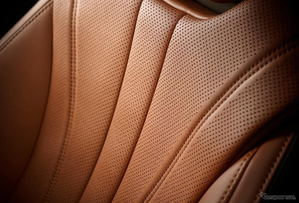 レクサス LC500h PATINA Elegance L-ANILINE本革シート《画像:トヨタ自動車》