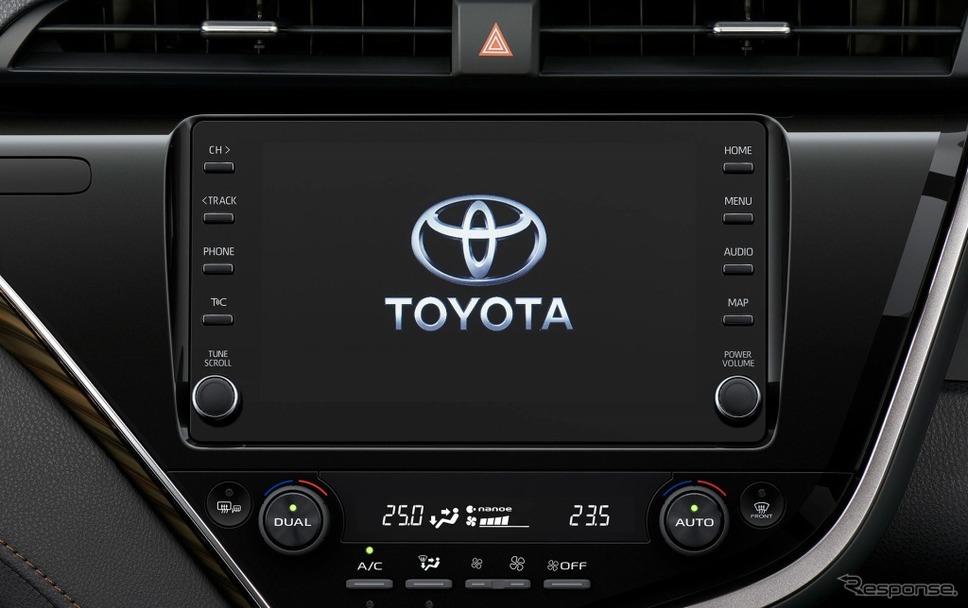 8インチディスプレイオーディオ《画像:トヨタ自動車》