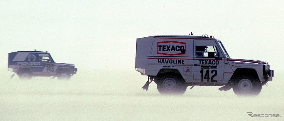 メルセデスベンツ「280GEパリ-ダカール」(1983年)《photo by Mercedes-Benz》