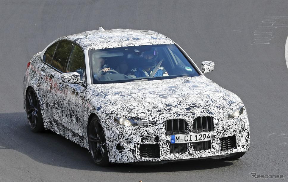 BMW M3セダン 新型プロトタイプ(スクープ写真)《APOLLO NEWS SERVICE》