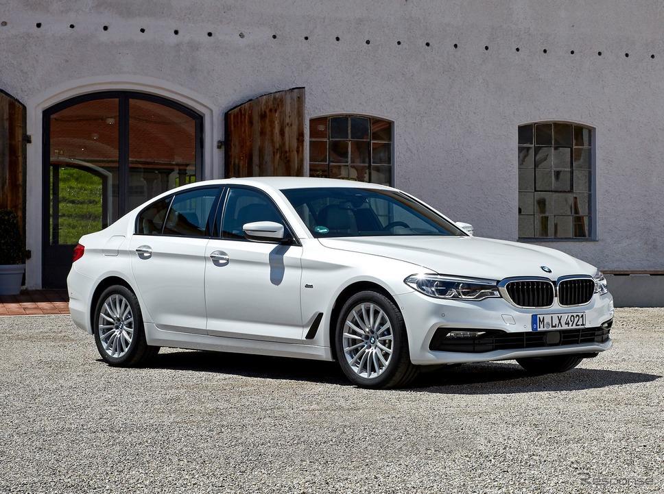 BMW 5シリーズ の520dセダン《photo by BMW》
