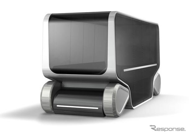 コンセプトキャビン「EMIRAI S」《画像:三菱電機》