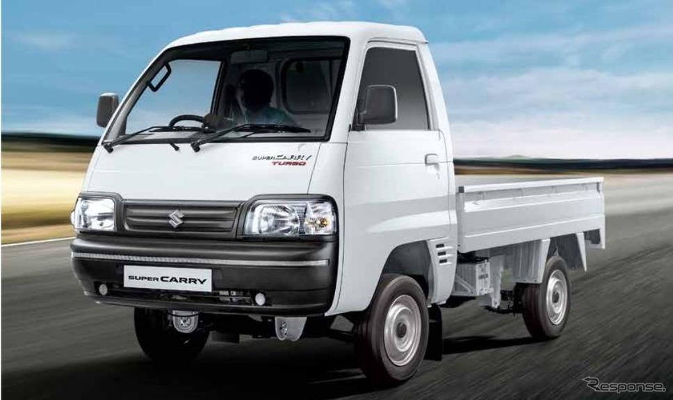 スズキ・スーパーキャリイ 新型(インド仕様車)《photo by Suzuki》
