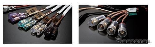 OFC(無酸素銅)を採用した高音質ケーブルを2種類同梱