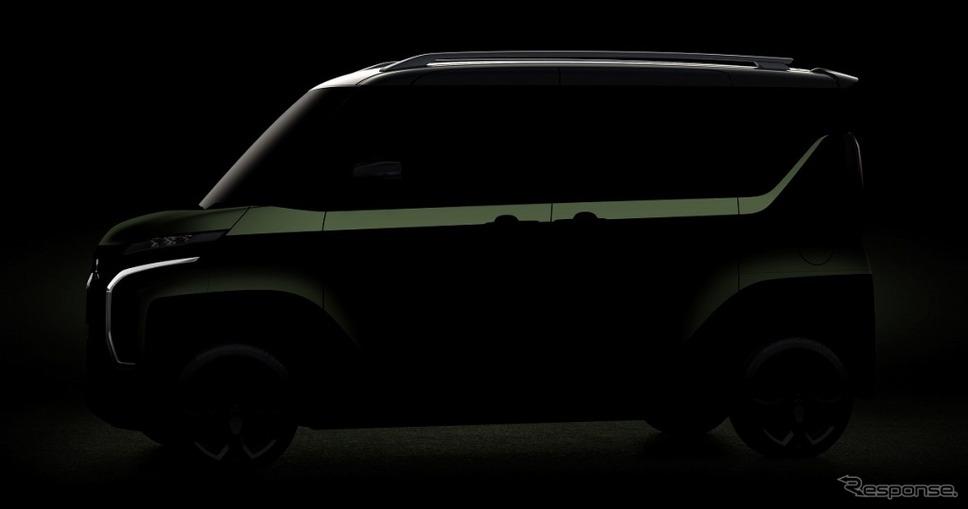 スーパーハイト軽ワゴンコンセプト《画像:三菱自動車》