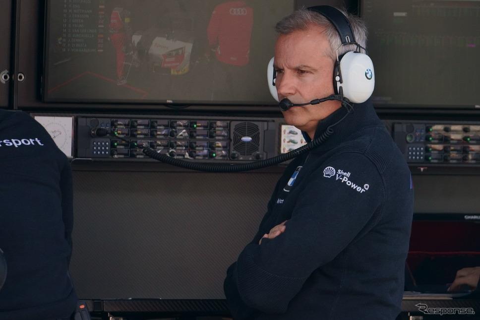BMWモータースポーツのイェンス・マルカルト代表《撮影 石川徹》