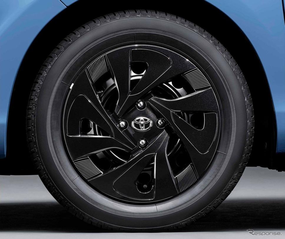 アクア 特別仕様車 S グランパー ホイールキャップ《画像:トヨタ自動車》