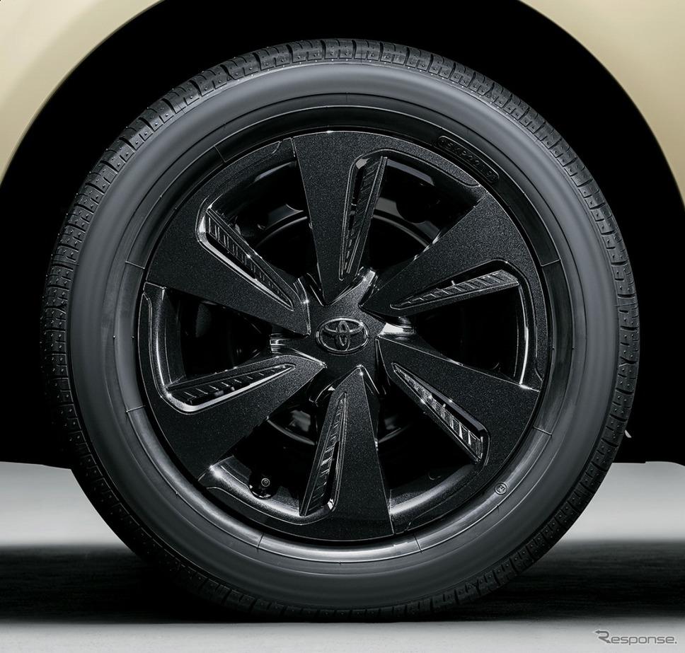 シエンタ 特別仕様車 G グランパー ホイールキャップ《画像:トヨタ自動車》