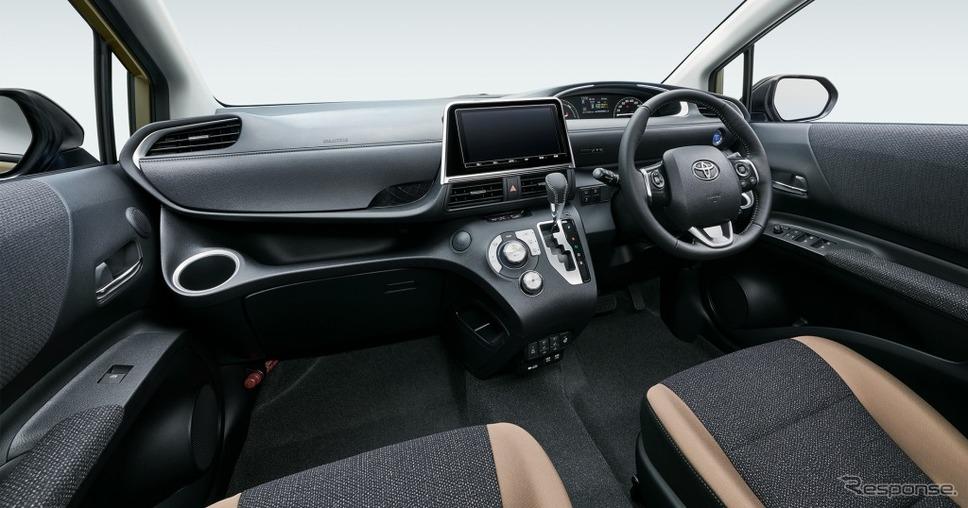 シエンタ 特別仕様車 G グランパー インストルメントパネル《画像:トヨタ自動車》