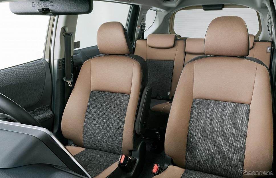 シエンタ 特別仕様車 G グランパー 内装《画像:トヨタ自動車》