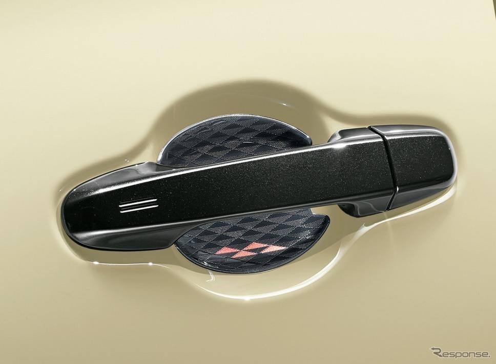 シエンタ 特別仕様車 G グランパー GLAMPER meets TRD ドアハンドルプロテクター《画像:トヨタ自動車》