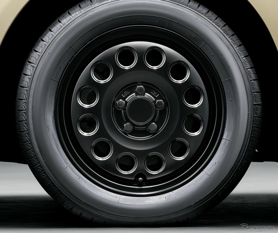シエンタ 特別仕様車 G グランパー GLAMPER meets TRD 15インチアルミホイールキット《画像:トヨタ自動車》