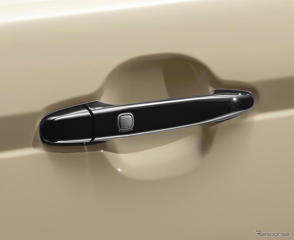 ポルテ 特別仕様車 G グランパー アウトサイドドアハンドル《画像:トヨタ自動車》